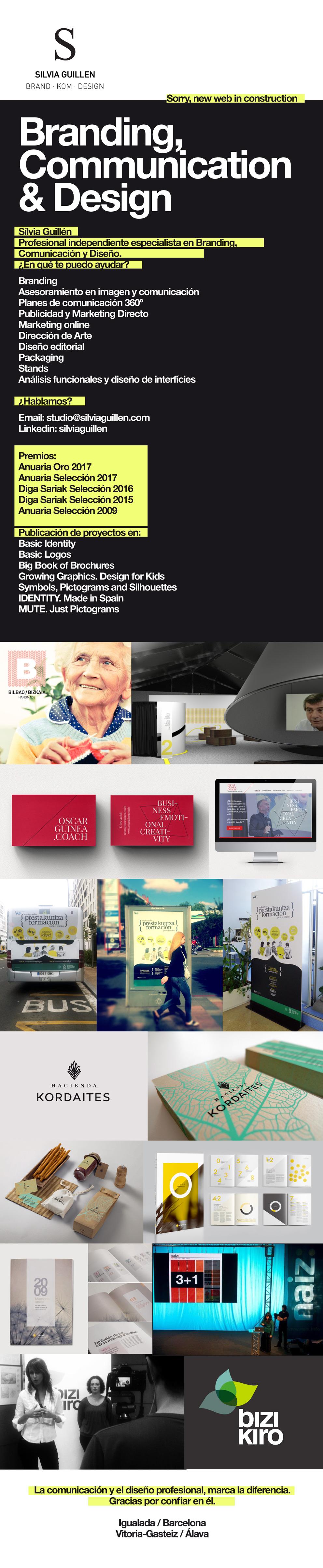 Sílvia Guillén - Branding, Comunicación y Diseño en Igualada (Barcelona) y Vitoria-Gasteiz (Álava)